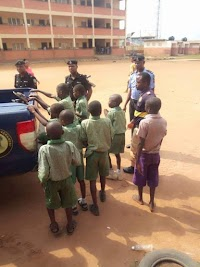 CULT ACTIVITIES: 10 PRIMARY SCHOOL PUPILS OF EGAN COMMUNITY PRIMARY SCHOOL CAUGHT