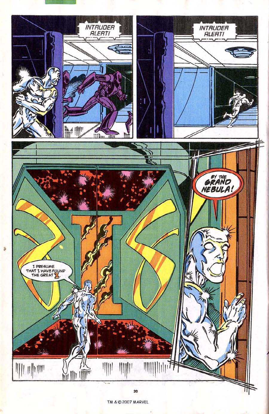Read online Silver Surfer (1987) comic -  Issue #42 - 22