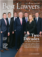 Best Lawyers New England cover