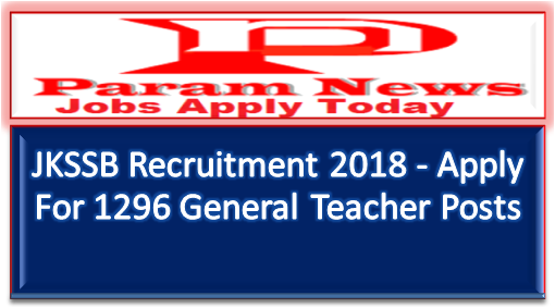 jkssb-recruitment-pgt-1296-posts-paramnews