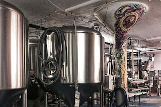 Craft brewery production room in DC