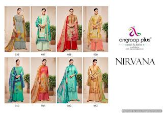 Angroop plus nirvana Cotton lawn Suits wholesaler