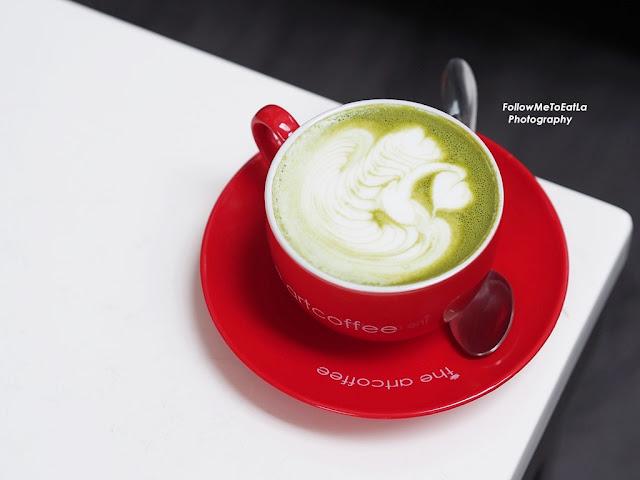 Green Tea Latte RM 12.90