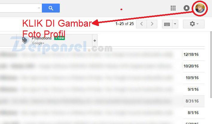 cara logout akun gmail di desktop dan android