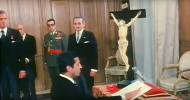 Juramento de Adolfo Suárez como presidente del Gobierno