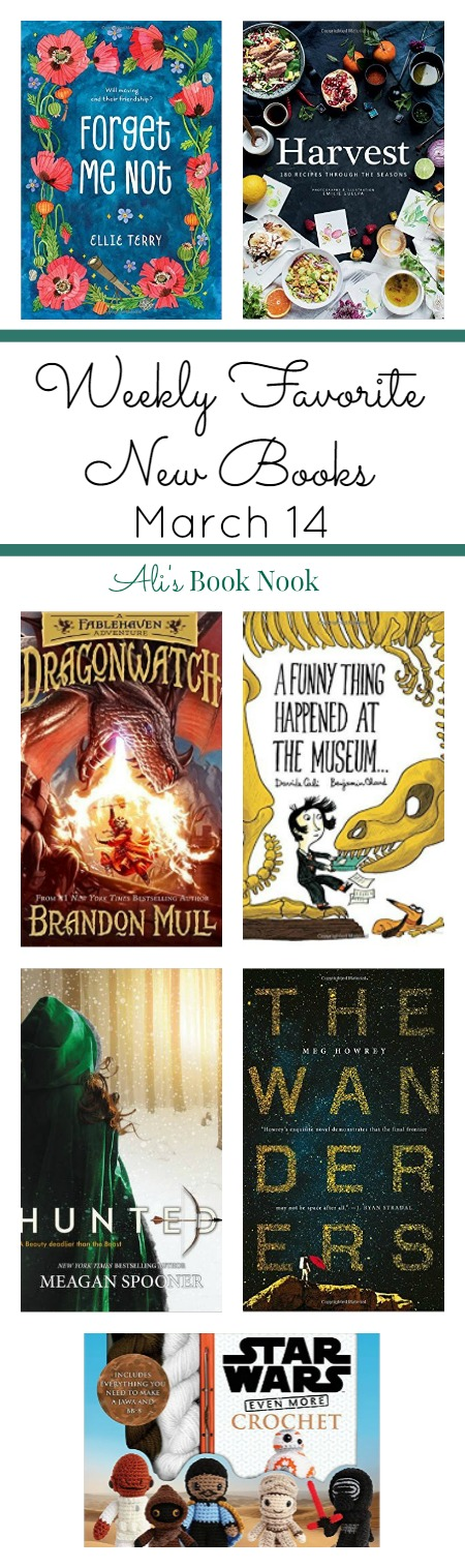 Weekly Favorite New Books for all ages and genres published March 14