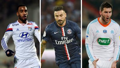 Penjaring Terbanyak Ligue 1 Perancis 2016