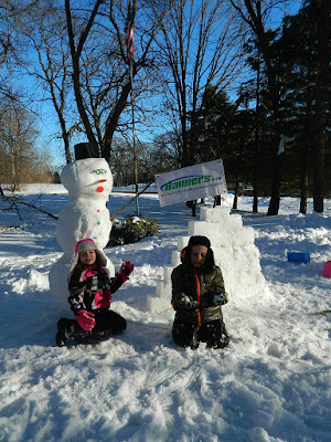 Building a Snowman with Banners in MN | Banners.com