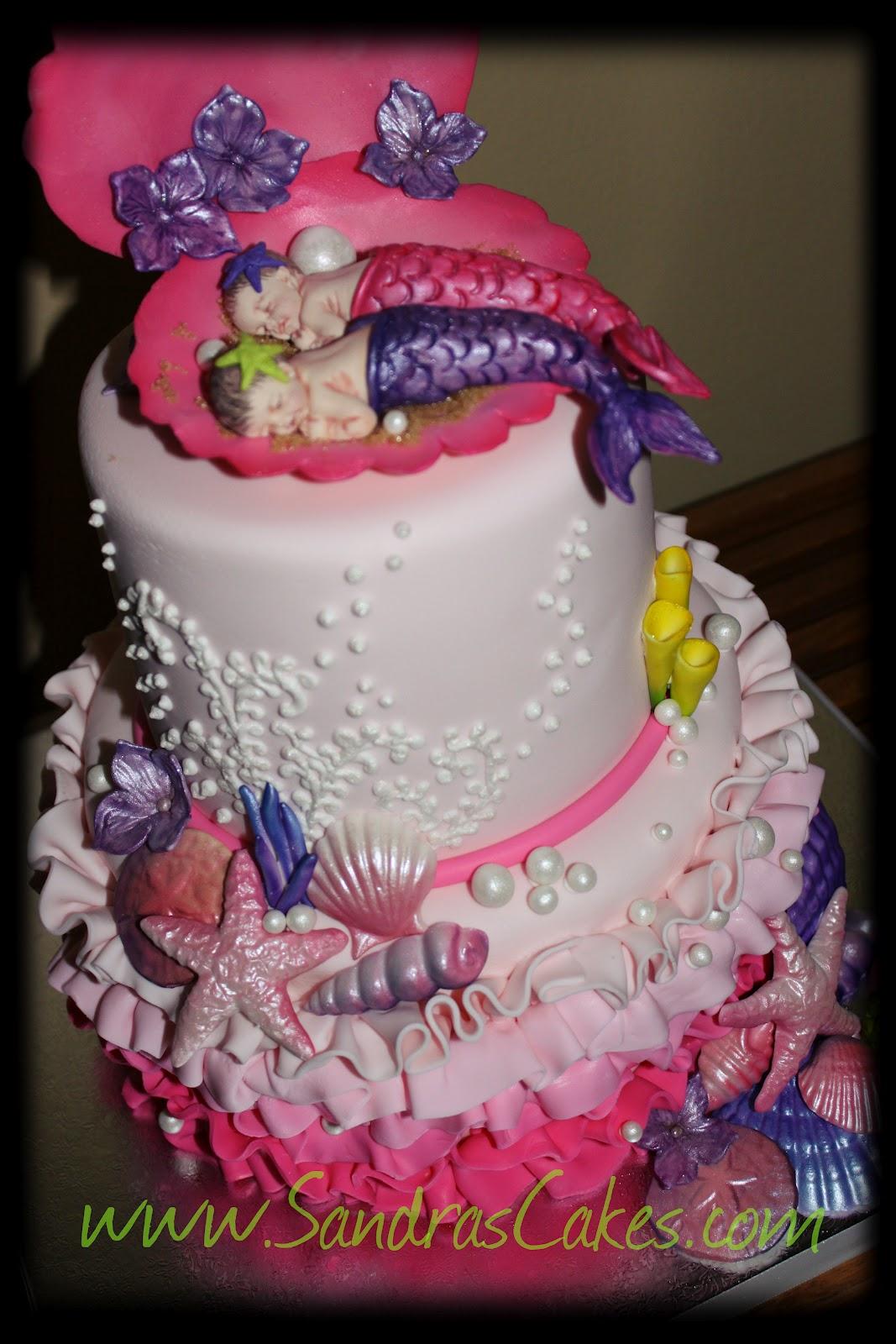 Baby Shower Baby Girl Cake