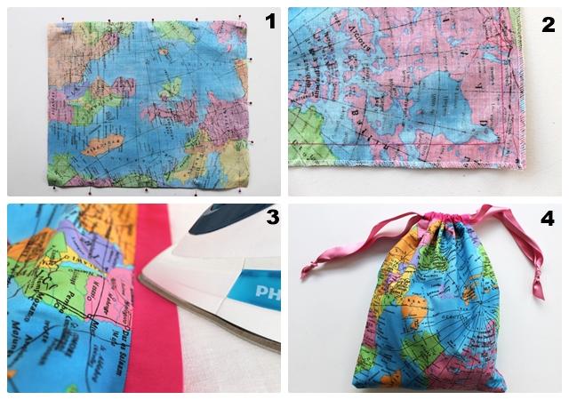 Drawstring Bag bisa atur perlengkapanmu