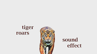 tiger animal sounds