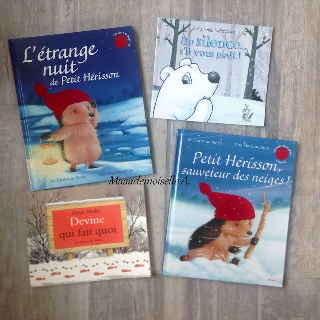 > L'étrange nuit de Petit Hérisson  > Du silence... s'il vous plait !  > Devine qui fait quoi - Une promenade invisible > Petit Hérisson, sauveteur des neiges !