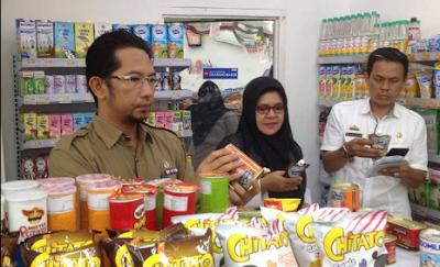 Jelang Lebaran Camat Kalianda Monitoring Makanan dan Minuman