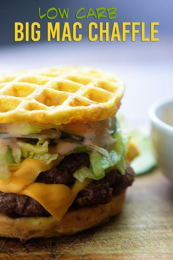 Big Mac Chaffle