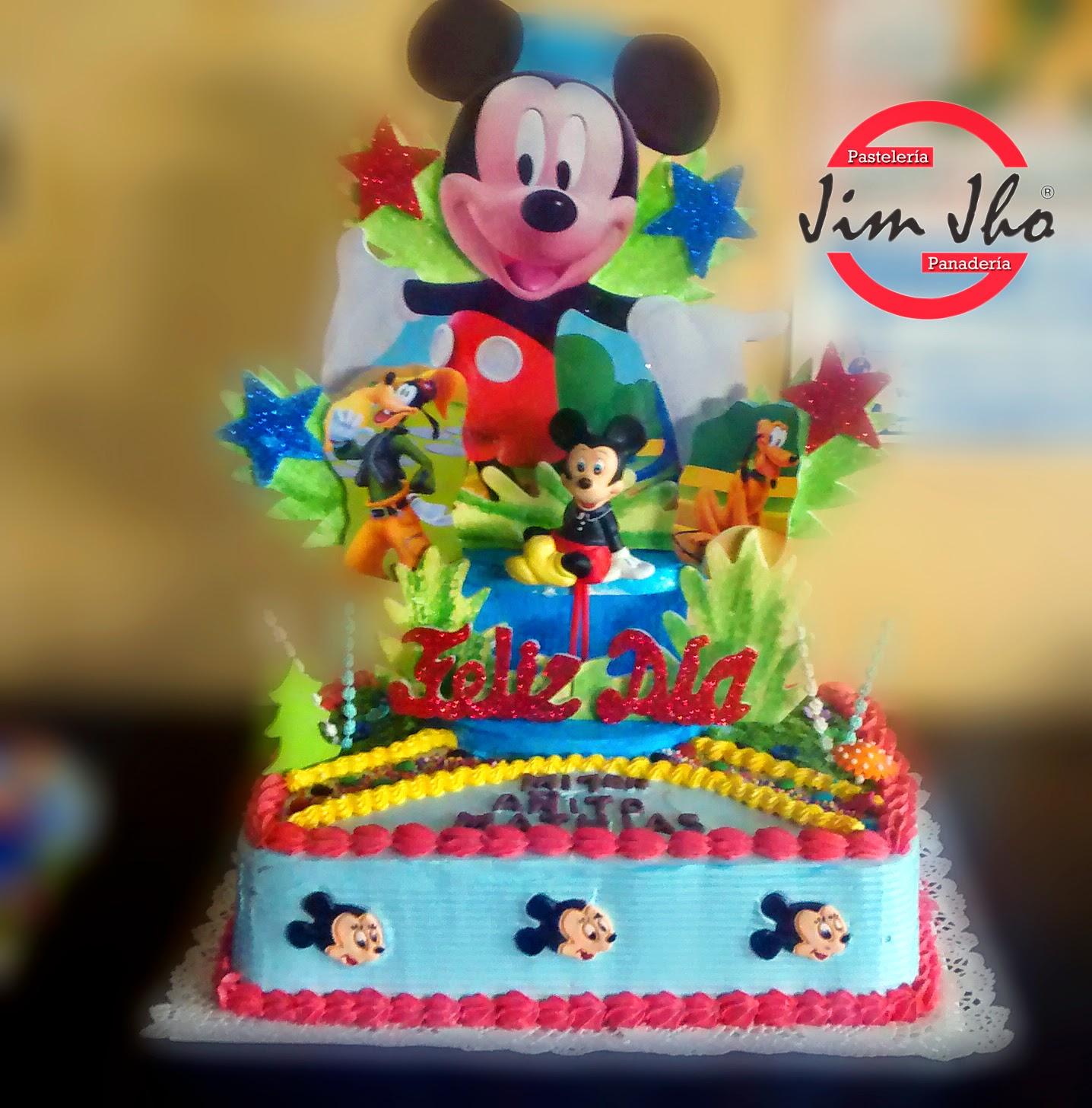 Torta Mickey Mouse Pasteler 237 A Jimjho
