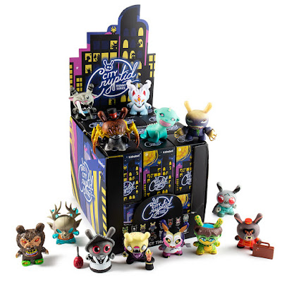 "City Cryptid 3"" Dunny Series by Kidrobot"