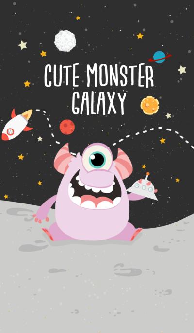 cute monster galaxy