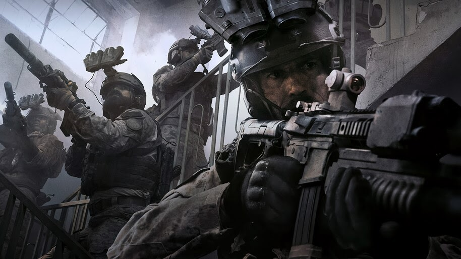 Call Of Duty Modern Warfare Soldiers 4k Wallpaper 5 1003