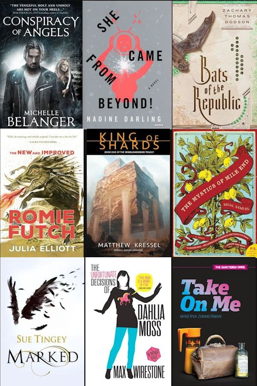 2015 Debut Author Challenge Cover Wars - October Winner