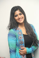 Megha Akash in a beautiful Anarkali dress with Long Jacket at LIE success meet ~  Exclusive Celebrities Galleries 006.JPG