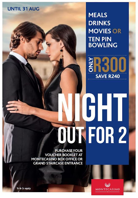 Night Out for All Types of 'Twos' with @MontecasinoZA #NOF2