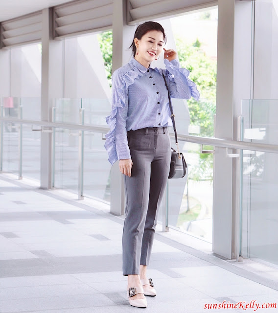 PAZZION Dazzling Mules, Pazzion Almond Dazzling Mules, Dazzling Mules, OOTD Day To Night, OOTD Malaysia, Pazzion Malaysia West, Pazzion Malaysia, Malaysia top fashion influencer blogger