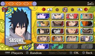 Naruto Ultimate Ninja Heroes 3 MOD Texture (Sasuke Rinnegan)
