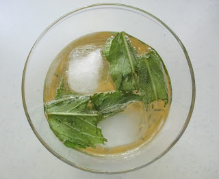 Ginger Beer Highball Cocktail