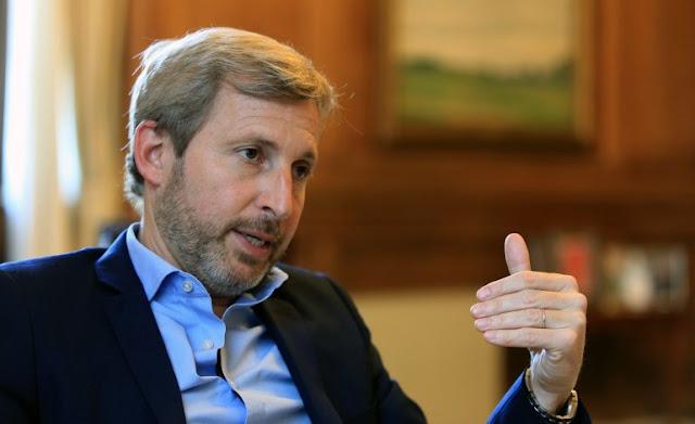 """""""No hay ninguna posibilidad de una corrida"""" bancaria, afirmó Frigerio"""
