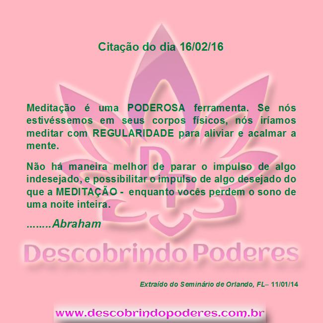 MEDITAÇÃO UMA FERRAMENTA PODEROSA