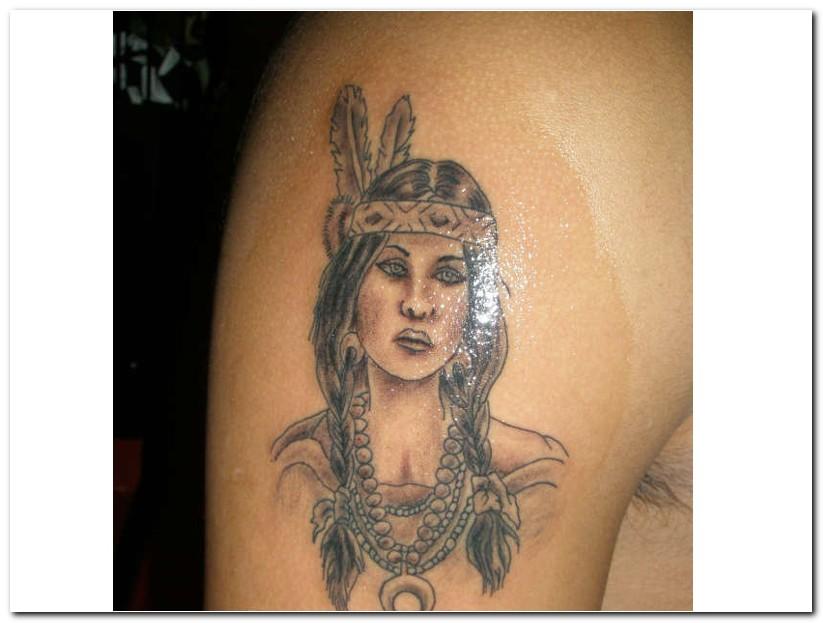 indian tribal tattoo 8