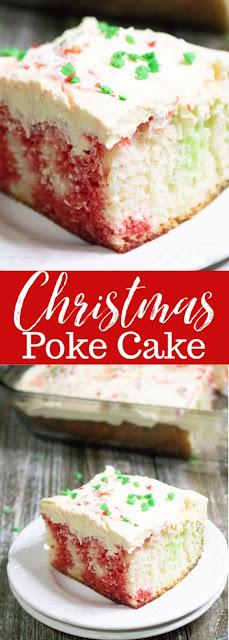 Christmas Poke Cake Recipes