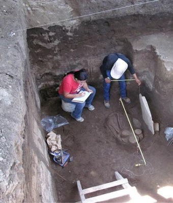 Mayan artefacts surface at construction site