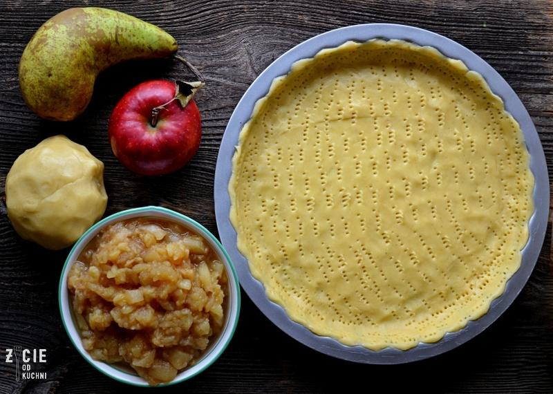 tarta z jablkami, tarta z gruszkami, szarlotka, domowe ciasto, domowa szarlotka, najlepsza szarlotka, ciasto z owocami, ciasto kruche, jak zrobic kruche ciasto, latwe ciasto, domowe wypieki, zycie od kuchni