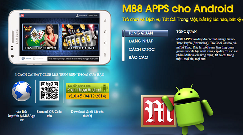 Ứng dụng M88