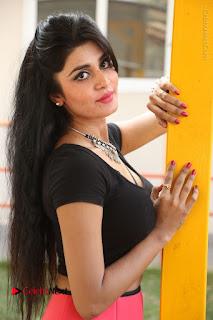 Telugu Actress Harini Stills at Dhyavudaa Movie Teaser Launch  0197.JPG