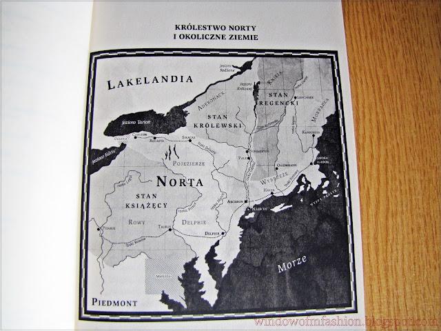 mapa Norty