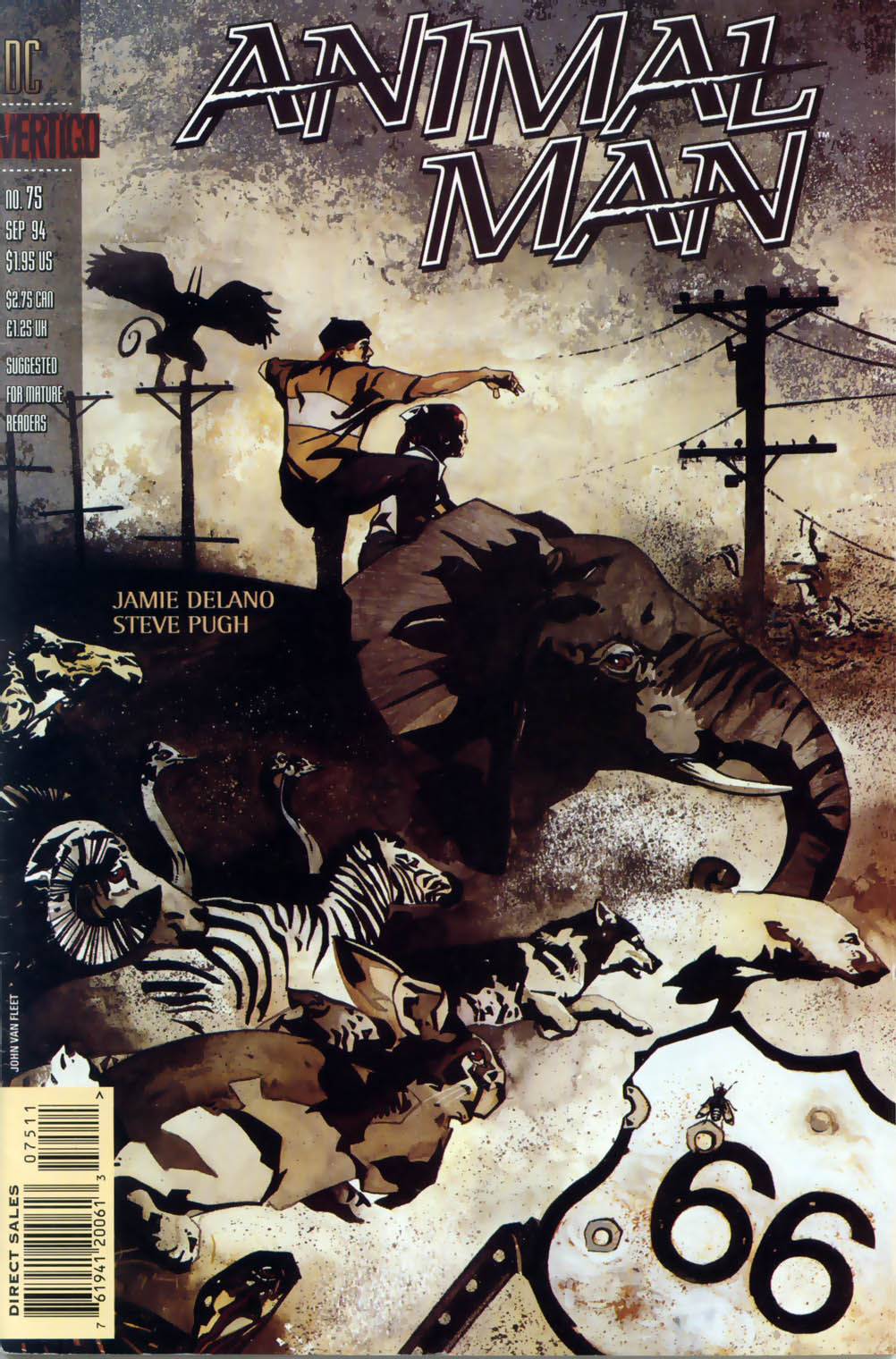 Read online Animal Man (1988) comic -  Issue #75 - 29