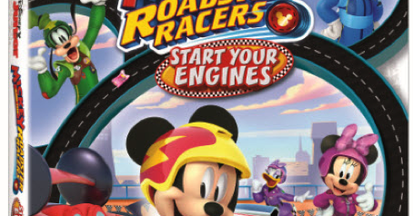 Mickey and the Roadster Racers: Start Your Engines DVD Giveaway (4 Winners)