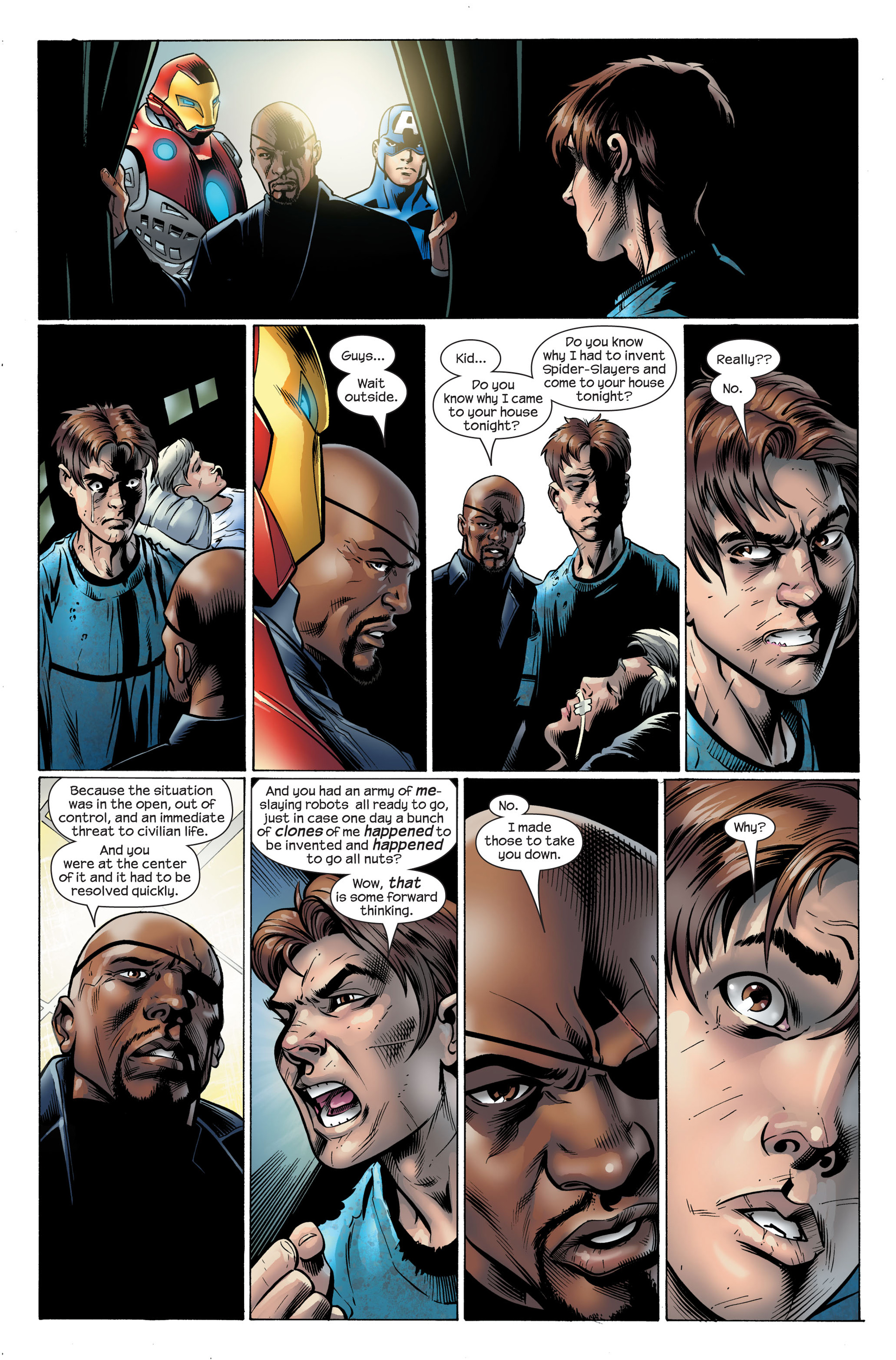Read online Ultimate Spider-Man (2000) comic -  Issue #105 - 10