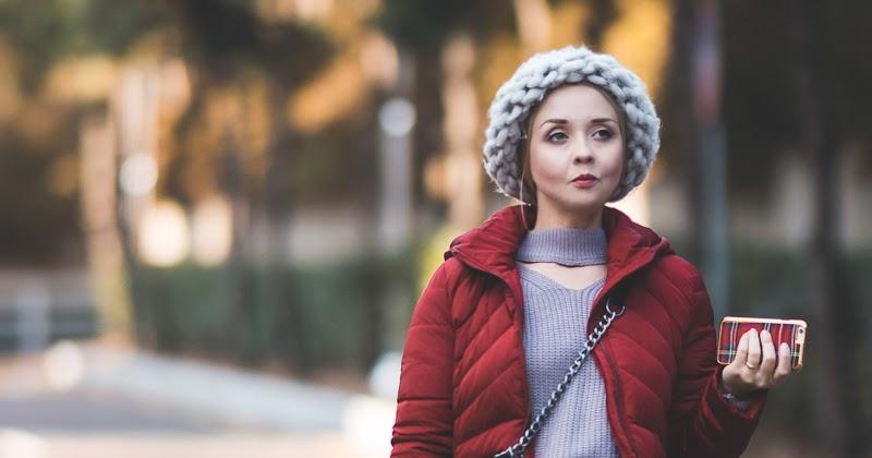 Winter survival. Padded coat - My Blonde Gal