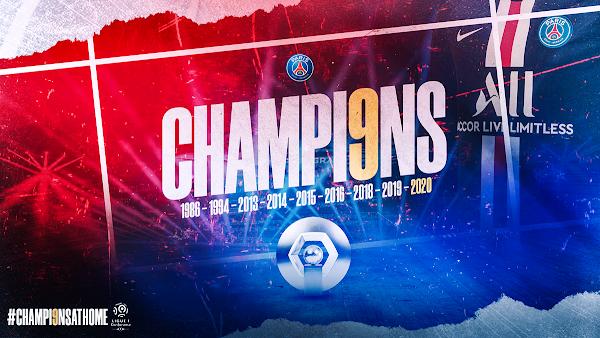 Oficial: El PSG es el nuevo campeón de la Ligue 1