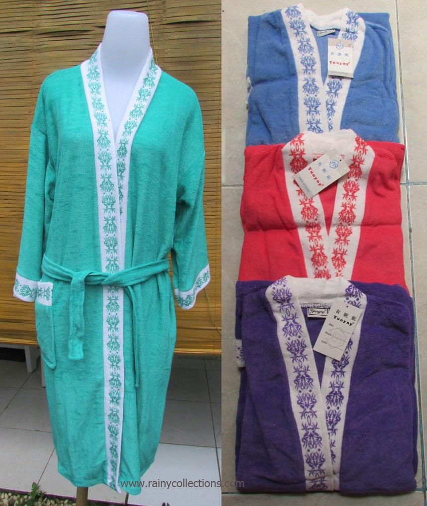 Rainy Collections Handuk Kimono Motif Dewasa Hello Kitty Harga Murah Untuk Mandi Di Hotel
