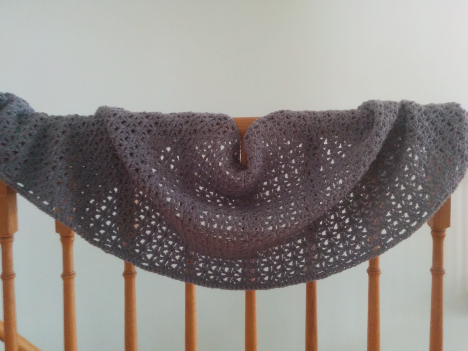 Whitney Knits Free Crochet Prayer Shawl Pattern