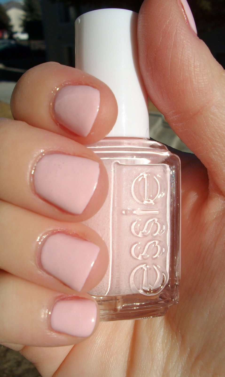 Essie Pale Pink Comparison Ballet Slippers Minimalistic: Simply Said...: All Ten Of Them