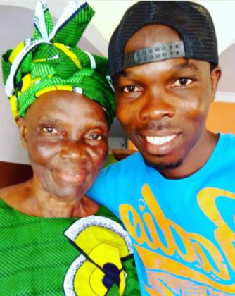 Iya Ni Wura mi… Star Comic Yoruba Actor Ijebu Says As He Shows Off His Pretty Mum [Photo]