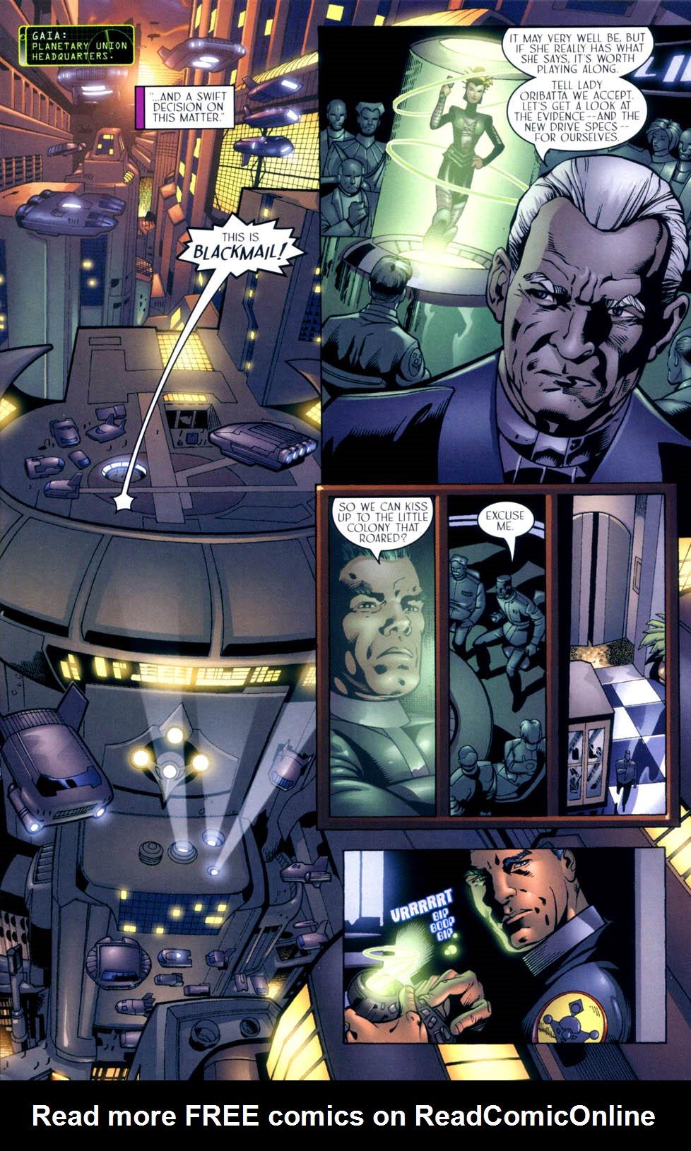 Read online Sigil (2000) comic -  Issue #10 - 10
