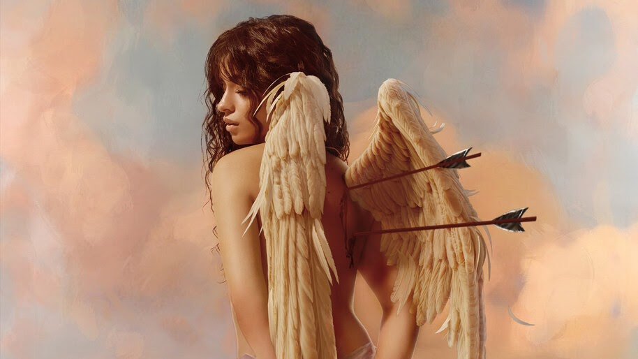 Camila Cabello, Angel, Wings, 4K, #4.2515