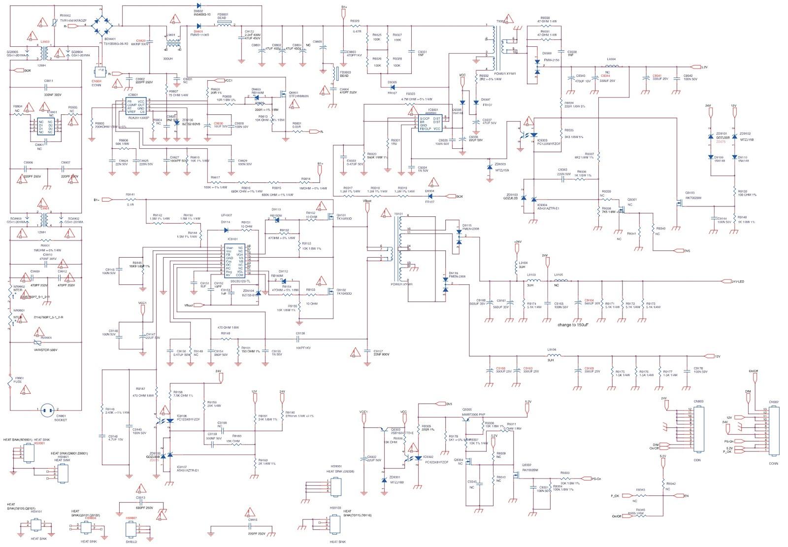 Master Electronics Repair !: 715G5243, 715G5173, 715G5113 POWER