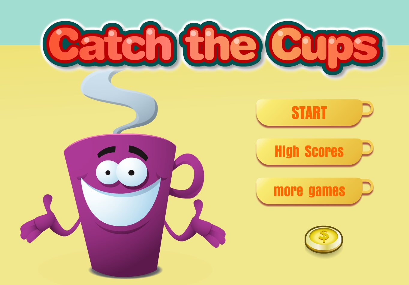 Catch The Cups Play Free Online Fun Game